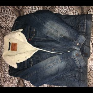 Men's XL Levi's Sherpa Jean Jacket